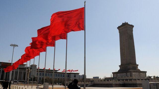 Plaza Tiananmen en Pekín.