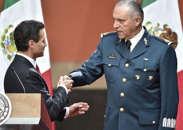 Peña Nieto y Cienfuegos