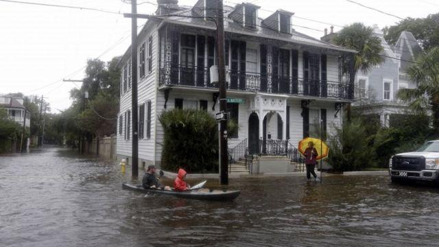 Hurricane Joaquin: Obama declares emergency in South Carolina