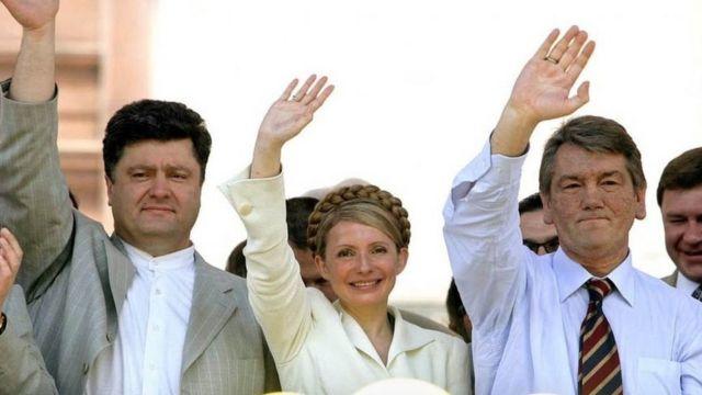 Петр Порошенко, Юлия Тимошенко, Виктор Ющенко