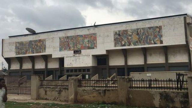 Former Marhaba Cinema building for Kano.