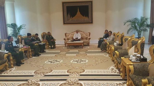 Special Security Meeting at President's Resident