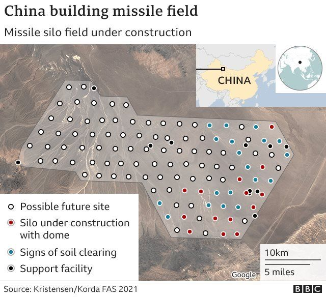 China expanding its nuclear capabilities, scientists say