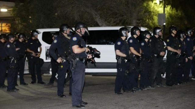Policía en Phoenix, Arizona