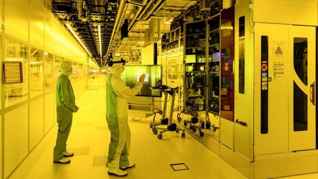 Фабрика чипов Bosch в Дрездене