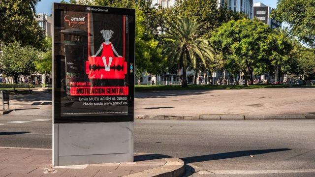 Campanha contra mutilação genital feminina