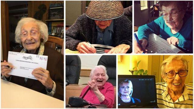 Pemilih wanita tertua