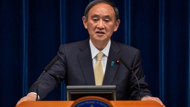 Primer ministro japonés, Yoshihide Suga, el pasado 23 de abril.