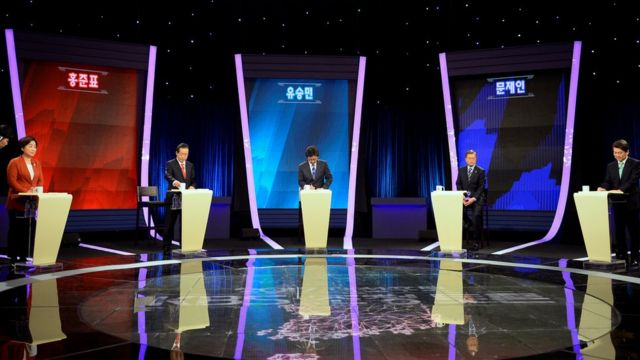 韓國總統候選人