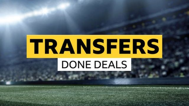 Deadline day completed deals