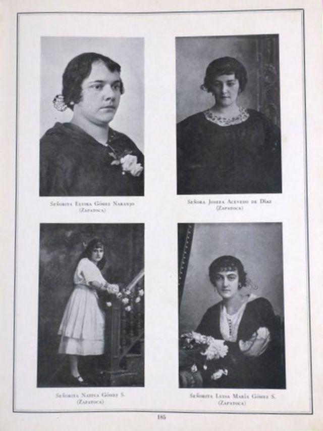 Fotos de mujeres colombianas.