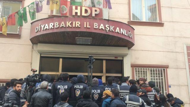 HDP binası