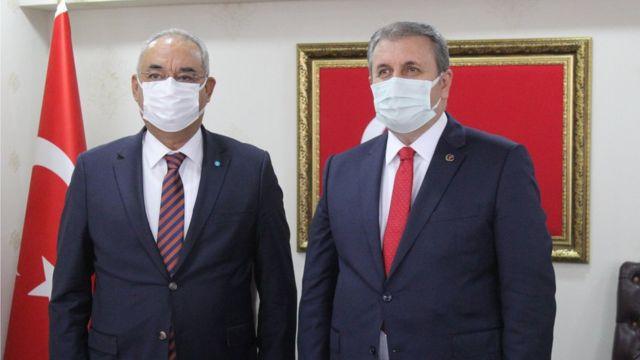 Önder Aksakal ve Mustafa Destici