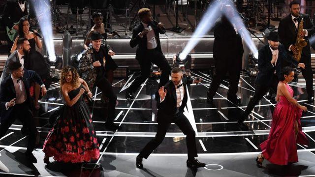 Justin Timberlake actúa en los Oscar