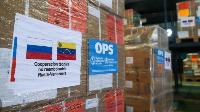 Luego de haber negado la necesidad de recibir ayuda humanitaria, Maduro anunció que recibiría 300 toneladas procedentes de Rusia.