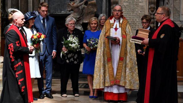 Церемония похорон Стивена Хокинга