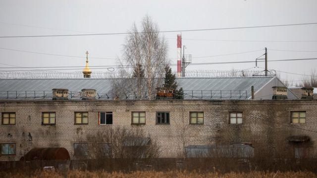 زندانی که آلکسی ناوالنی در آن نگهداری میشود، در شهر پوکروف