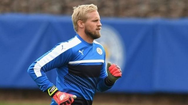 Mai tsaron gida na Leicester City Kasper Schmeichel
