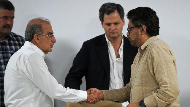 Iván Márquez fue el jefe del equipo negociador de las FARC en los diálogos de paz de La Habana.