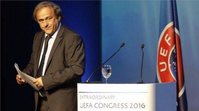 Platini yari yatorewe kurongora UEFA mu 2006