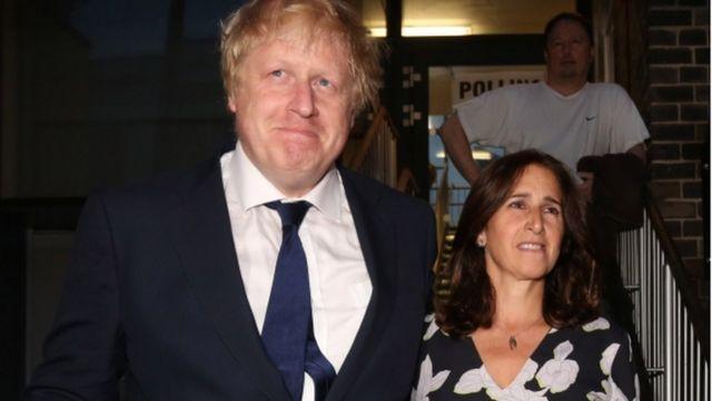 Boris Johnson ve Marina Wheeler
