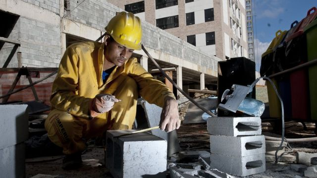Trabalhador na construção civil
