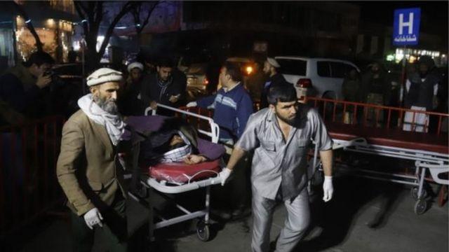Ndị merụrụ ahụ na Kabul