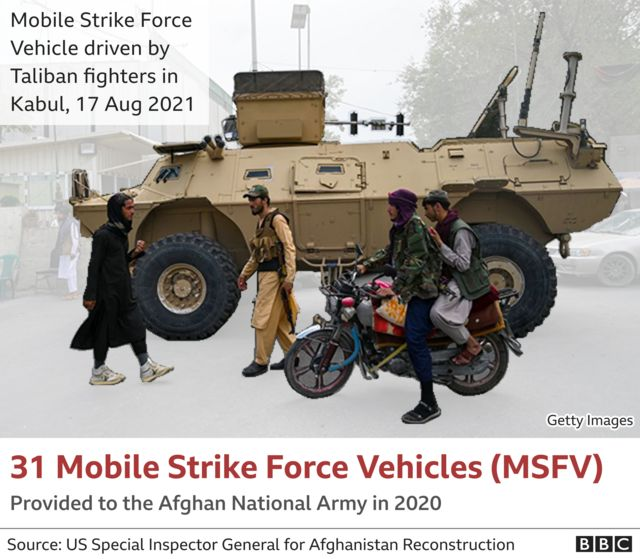Image showing captured Mobile Strike Force Vehicle