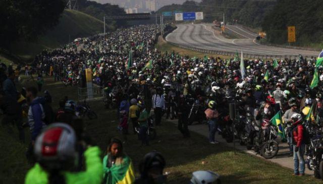 Motociata de Bolsonaro