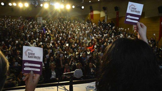 Türkiye Kadın Meclisi toplantısı