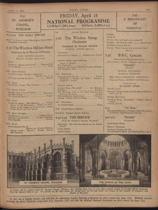 Programa del 18 de abril de 1930
