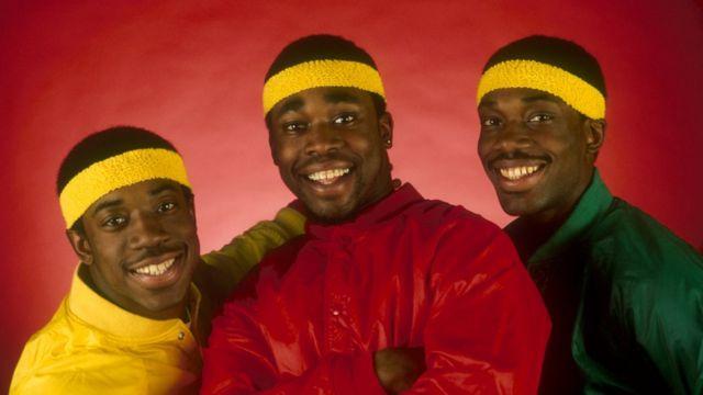 Rap trio Break Machine