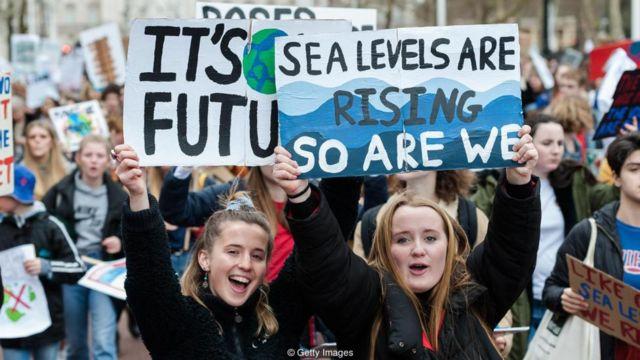 Các cuộc đình công về khí hậu gần đây cho thấy lớp người trẻ tuổi đang hăng hái đến mức nào đối với biến đổi khí hậu