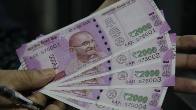 2000 के नए नोट