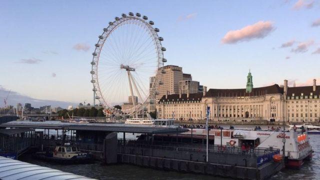 London eye for United Kingdom