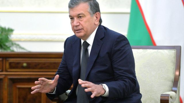 Şavkat Mirziyoyev