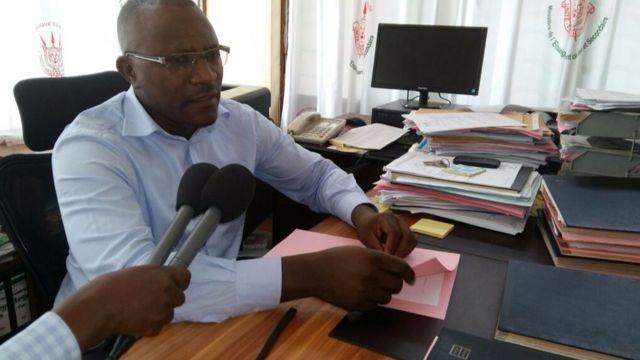 Steve Niyongabo amurongoye yaragize amakenga bakimubwira ko bamurungikiye umukozi afise ubumuga bwo kutumva kandi ntabone