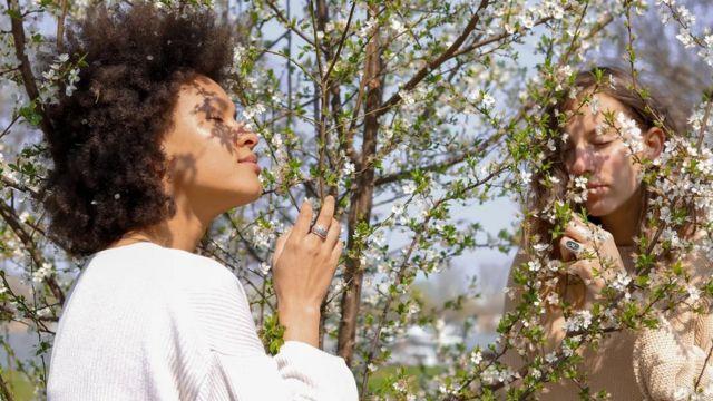 Жінка запах втрата нюху