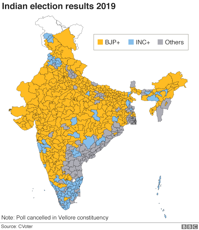 India general election 2019: What happened?