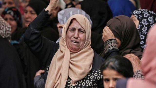 امرأة فلسطينية