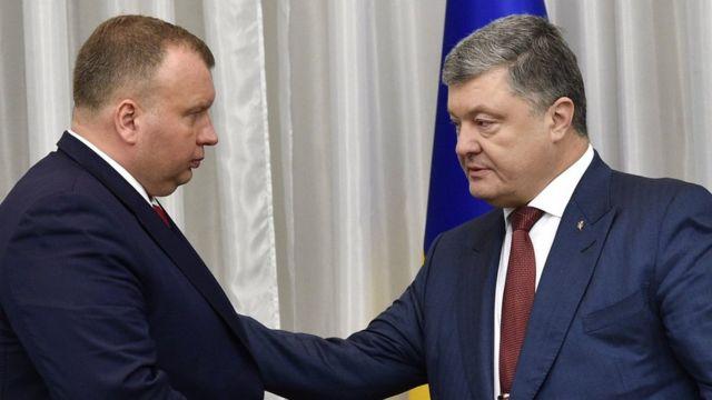 Букін і Порошенко