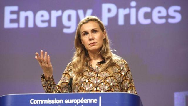المسؤولة عن شؤون الطاقة بالمفوضية الأوروبية، كادري سيمسون