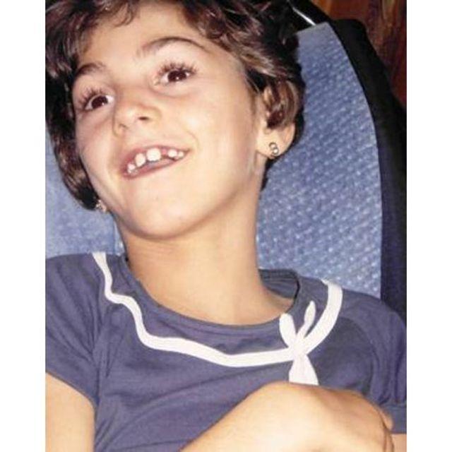 Foto de arquivo pessoal da família de Celia