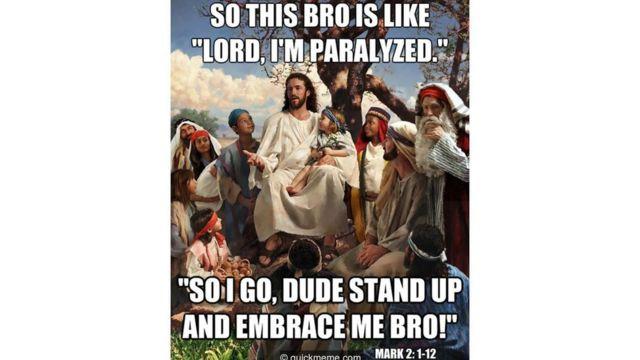Мем с Иисусом