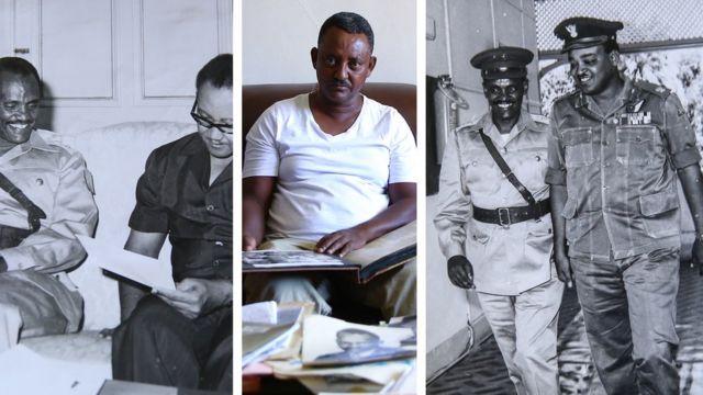 Koloneel Axinaafuun Pirezedaantii Sudaan duraanii Abuul Gaasim waliin