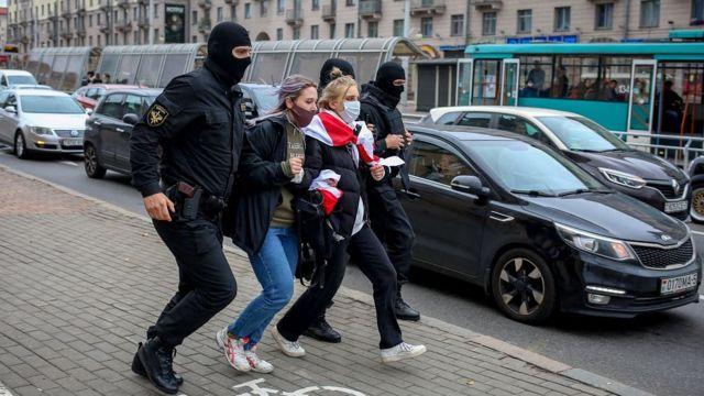 """Задержания на """"Партизанском марше"""" в Минске"""