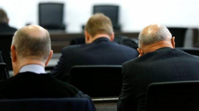 Empleados de Heckler & Koch en el juicio