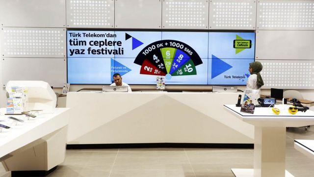 Türk Telekom dükkan