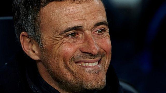 L'entraineur de Barcelone, Luis Enrique.