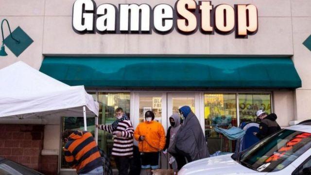 GameStop bilgisayar oyun mağazaları zinciri zarar ediyordu